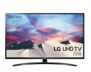 """LG 55"""" UM7400 4K UHD Smart TV 55UM7400"""